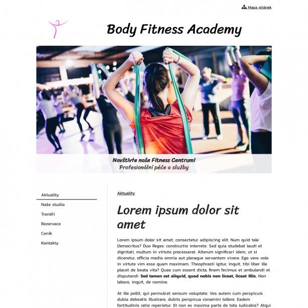 Sdílejte nabídku svých lekcí a novinek ze světa fitness se svými klienty. Webové stránky si snadno sami zřídíte a stejně lehce můžete také aktualizovat a doplňovat.
