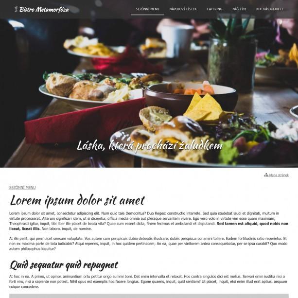 Žádná restaurace ani bistro se neobejde bez funkčních webových stránek, které jsou optimalizovány pro mobilní telefony. Takový web ocení všichni hosté, kteří k vám hledají cestu nebo chtějí omrknout vaše sezónní menu.