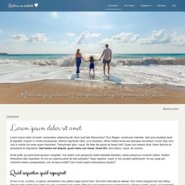 Mít svůj osobní blog nemusí být jen přáním. Rychle a jednoduše si jej můžete založit na WebSnadno.