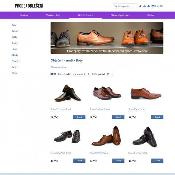 Nakopněte svůj on-line business i vy! S naší novou plně responzivní šablonou pro e-shopy posuntete svůj internetový obchod do profesionální úrovně, která Vám přinese nejen nové zákazníky, ale i další rozvoj vašeho podnikání.